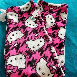 Hello Kitty fleece sleepwear